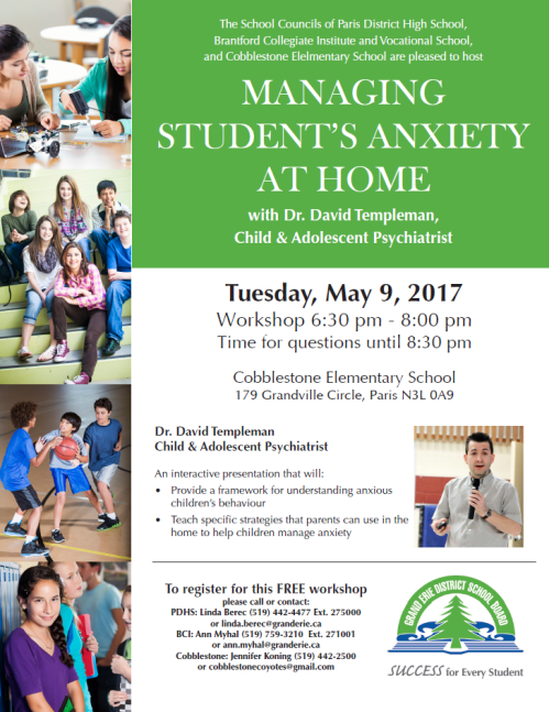 Managing Student Anxiety Workshop