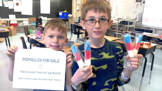 Popsicle sales