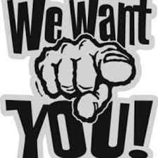 We need you.