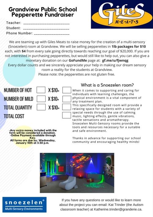 Grandview Public School Fundraiser