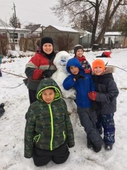 snowman friend