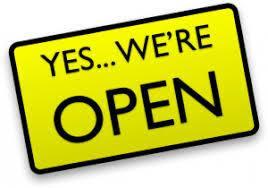 School Is Open